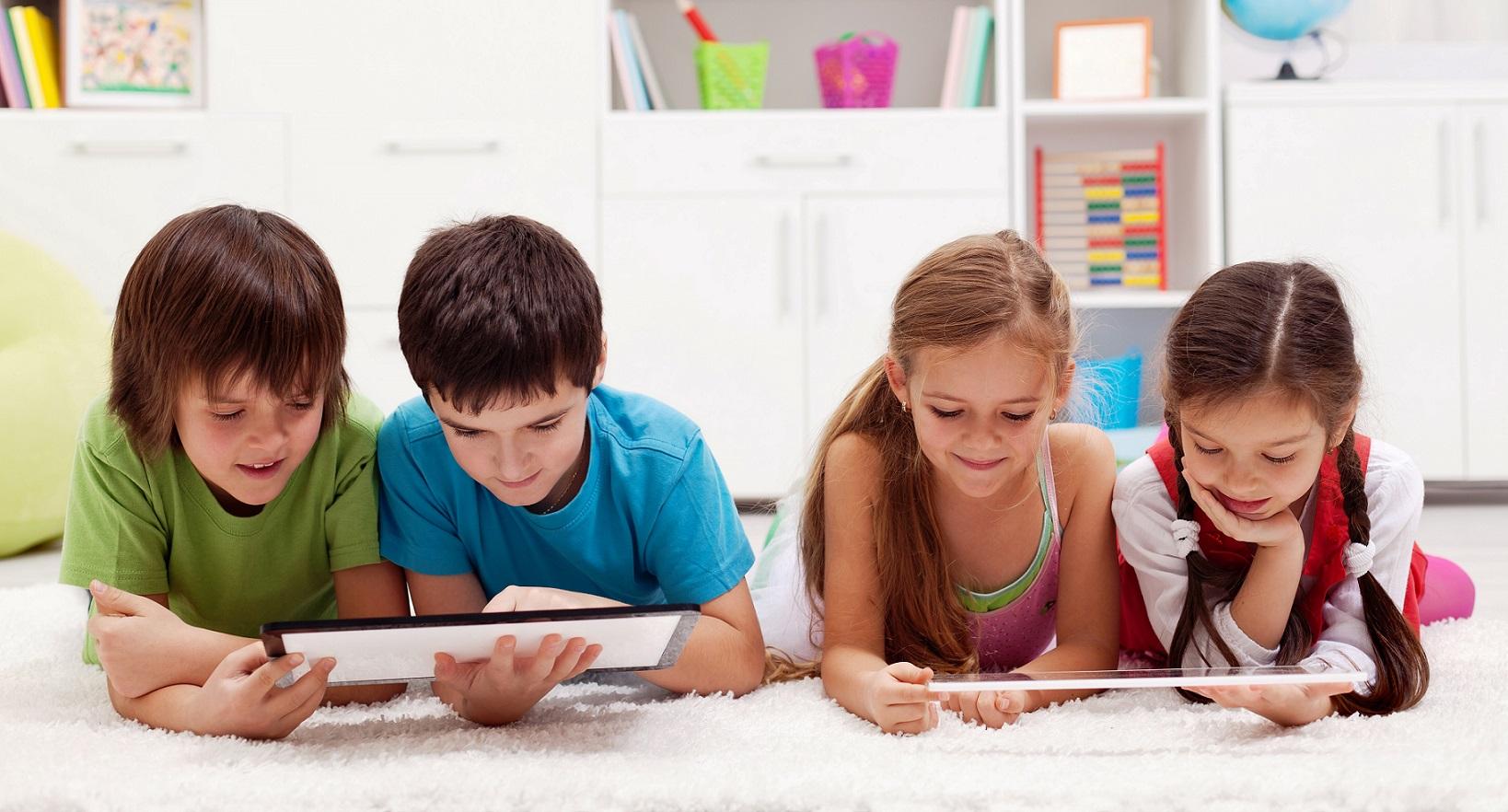 computer class kids