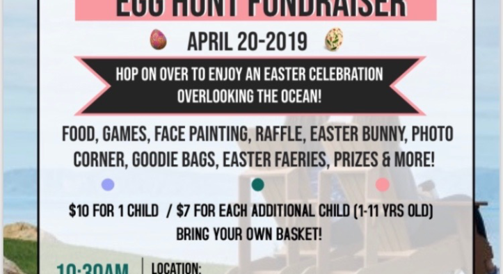 Easter Egg Hunt Fundraiser – Sat April 20